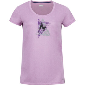 Marmot Post Time t-shirt Dames rood